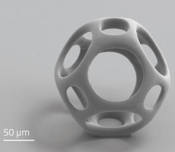 Dritte Dimension für Zellkulturen: Hochpräziser 3D-Druck ermöglicht biokompatible Mikrostrukturen