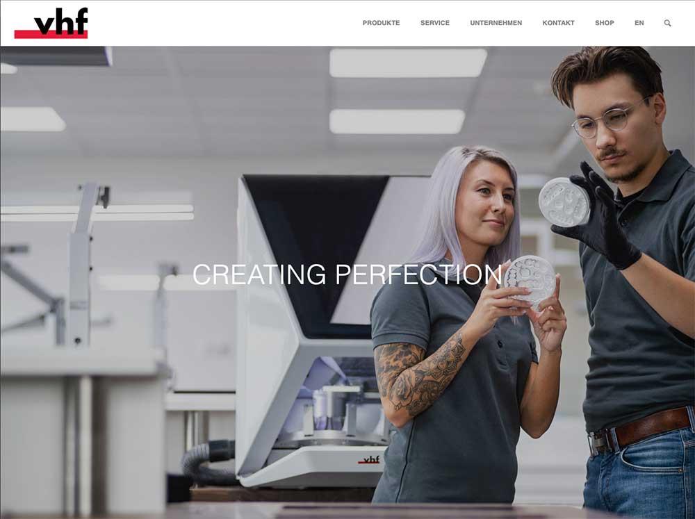 Informativ und modern – vhf überzeugt mit neuer Website