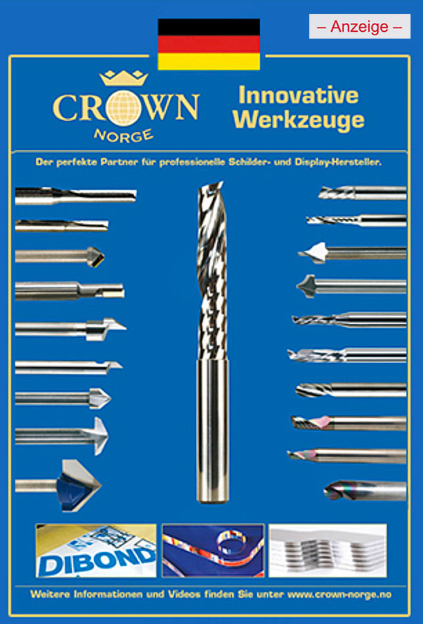 Anzeige Crown-Norge